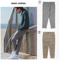 【BANKS JOURNAL】☆日本未入荷☆ DOWNTOWN CHECK PANT