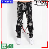 TRIPP NYC BLEACH AND STUD BONDAGE PANT 関税送料込