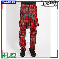TRIPP NYC PLAID DOUBLE BUMFLAP PANT 関税送料込