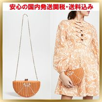 関税送料込◆Serpui Marie◆人気炸裂 Orange Clutch 2way Bag