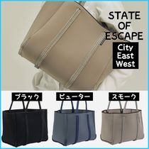 State of Escape★男女OK ネオプレン City East West 特大トート