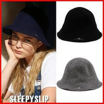 SLEEPY SLIP(スリーピースリップ) ハット ★SLEEPY SLIP★[unisex]SLEEPING WOOL BUCKET HAT☆安全発送☆