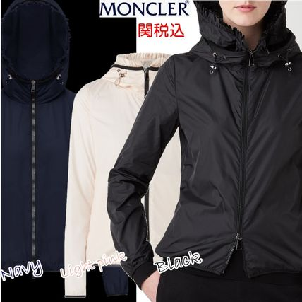 MONCLER アウターその他 国内発送 new! MONCLER ナイロンジャケット フリル LAIT 関税込