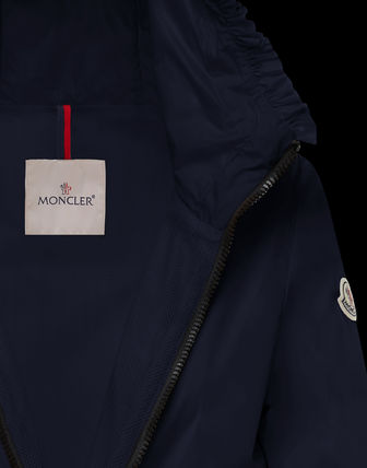 MONCLER アウターその他 国内発送 new! MONCLER ナイロンジャケット フリル LAIT 関税込(11)