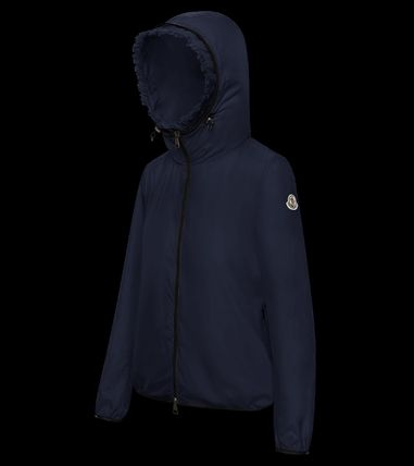 MONCLER アウターその他 国内発送 new! MONCLER ナイロンジャケット フリル LAIT 関税込(12)