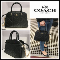 【COACH】 MINI LILLIE CARRYALL
