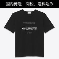 """SAINT LAURENT """"WHERE WERE YOU AT NIGHT"""" Tシャツ"""