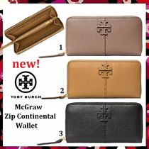 セール 新作 Tory Burch McGraw Zip Continental Wallet 長財布