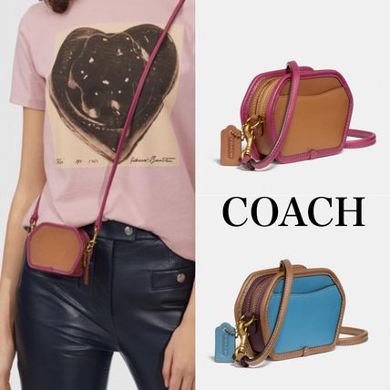 COACH* コイン ケース Geometric Coin Case In Colorblock