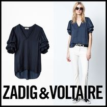 Zadig and Voltaire★Taste Satin トップス ブラウス SJCP3101F