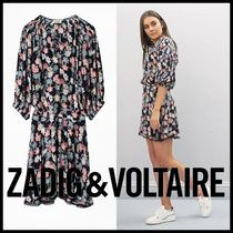 Zadig and Voltaire★Raspaliフラワープリントワンピース