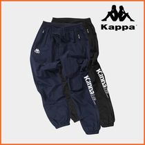 ◆Kappa◆ Big Lettering Jogger Pants (KLPT191MD / 2色)