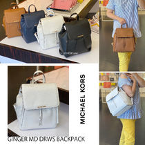 Michael Kors★GINGER MD DRWS BACKPACK