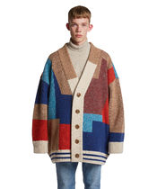 TRUNK PROJECT(トランク プロジェクト) カーディガン EMS発送 ☆ TRUNK PROJECT Color Mixed Wool Cardigan Jacket