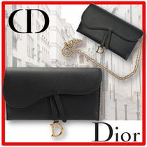 追跡付/送料・関税込☆DIOR☆CHRISTIAN DIOR CHAIN WALLET☆