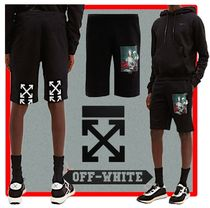 ★韓国の人気★OFF-WHITE★SWEATSHORTS★
