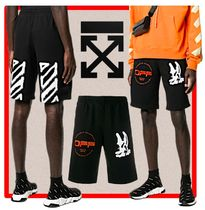 ★韓国の人気★OFF-WHITE★CARTOON SWEATSHORTS★
