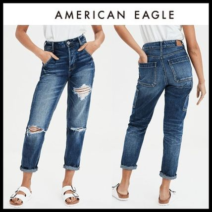 American Eagle Outfitters デニム・ジーパン ☆American Eagle☆ Denim high rise destroy pants