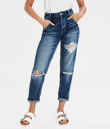 American Eagle Outfitters デニム・ジーパン ☆American Eagle☆ Denim high rise destroy pants(2)