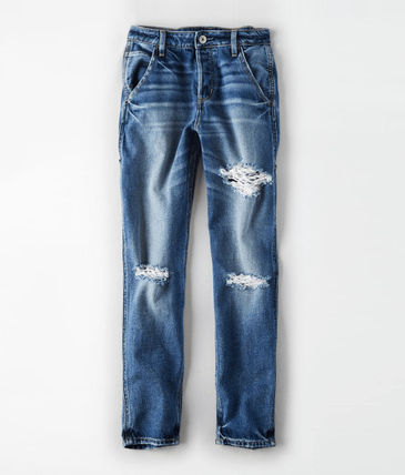American Eagle Outfitters デニム・ジーパン ☆American Eagle☆ Denim high rise destroy pants(4)