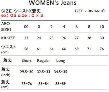 American Eagle Outfitters デニム・ジーパン ☆American Eagle☆ Denim high rise destroy pants(6)