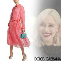 DOLCE & GABBANA Sheer Silk Trench Coat
