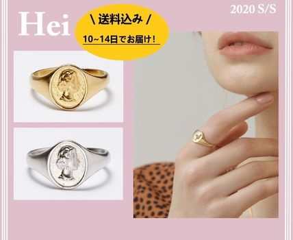 Hei 指輪・リング ★Hei★2020 S/S elizabeth bold ring 2color /正規品・追跡有