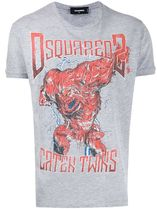 D SQUARED2ディースクエアードCaten Twins Logo T-Shirt Tシャツ