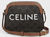 CELINE SMALL CAMERA BAG IN TRIOMPHE CANVAS