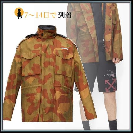 Off-White ジャケットその他 ◆国内発送◆Camouflage-print ripstop jacket