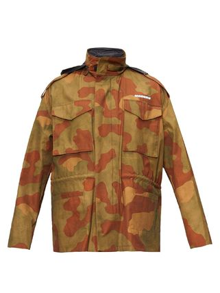 Off-White ジャケットその他 ◆国内発送◆Camouflage-print ripstop jacket(2)