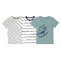 La Redoute★Pack of 3 Printed Cotton T-Shirts 3-12A