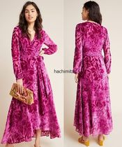 即発! サイズS Hutch Daniella Velvet Maxi Dress