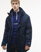Lacoste (ラコステ) Mountain Hooded Parka Half Coat Jacket