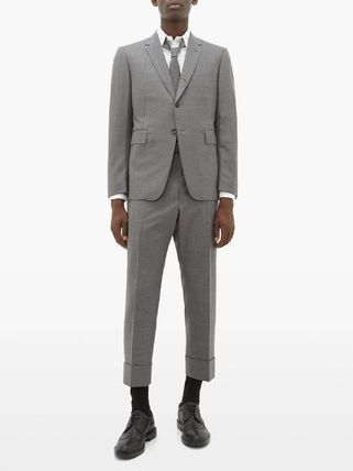 THOM BROWNE スーツ ◆国内発送◆Single-breasted wool-twill suit and tie(3)
