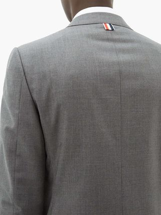 THOM BROWNE スーツ ◆国内発送◆Single-breasted wool-twill suit and tie(4)