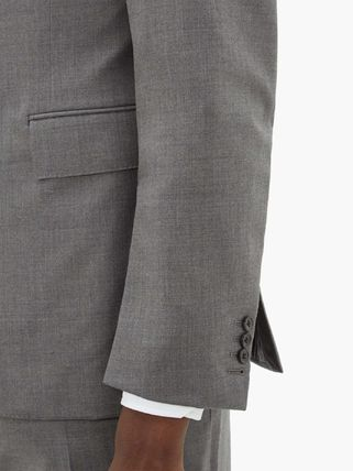 THOM BROWNE スーツ ◆国内発送◆Single-breasted wool-twill suit and tie(5)