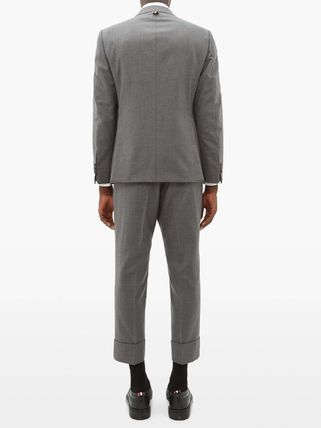 THOM BROWNE スーツ ◆国内発送◆Single-breasted wool-twill suit and tie(6)