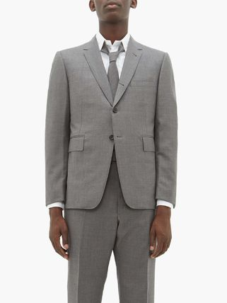 THOM BROWNE スーツ ◆国内発送◆Single-breasted wool-twill suit and tie(7)