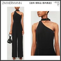 Zimmermann☆ジャンプスーツ☆Cut-out wide-leg stretch-crepe j
