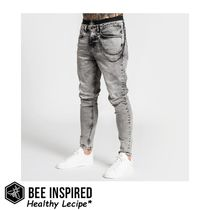 Bee Inspired☆リラックスフィット ジーンズ Grey☆関税込み