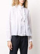 ISABEL MARANT ETOILE□SS20/本命 Embroidered シャツ