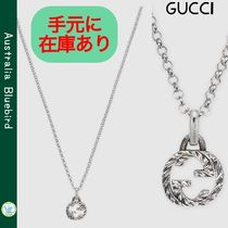 ★GUCCI★大人気 Interlocking G pendant necklace G ネックレス