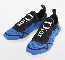 DIOR★technical knit sneakers (black+blue)【関税込EMS】