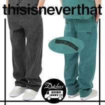thisisneverthat(ディスイズネバーザット) パンツ thisisneverthat Overdyed Big Pant MH1410 追跡付