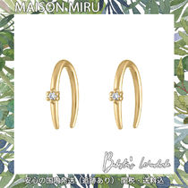日本未入荷 MAISON MIRU SHOOTING STAR OPEN HOOP EARRINGS