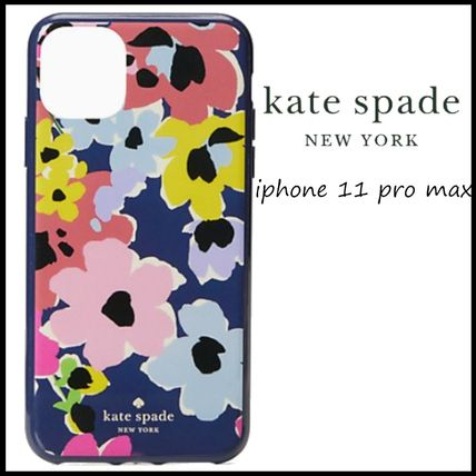 kate spade new york スマホケース・テックアクセサリー 【kate spade】floral bouquet iphone 11 pro max case