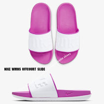 NIKE★WMNS OFFCOURT SLIDE★スライド サンダル FIRE PINK/WHITE
