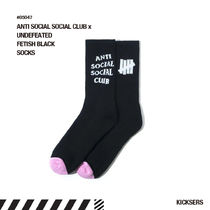 人気話題!ANTI SOCIAL SOCIAL CLUB x UNDEFEATED FETISH SOCKS