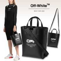 OFF-WHITEクロスボディトート2wayバッグWavy Tote